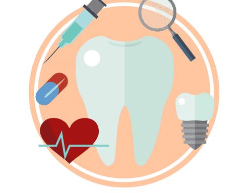 Cuidado bucal antes y después de un implante